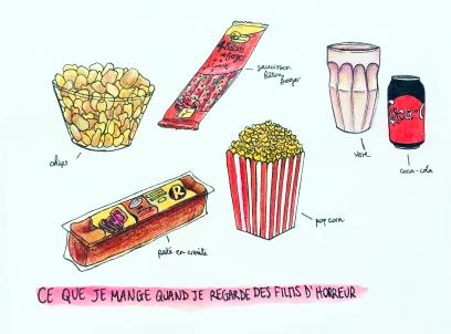 Snack Horreur Movie